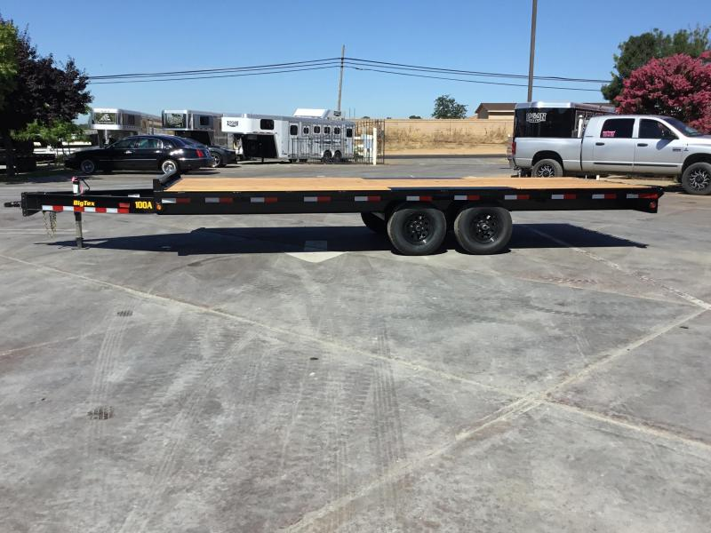 "New 2020 Big Tex 10OA-20SIR 102""x20 Deck Over Trailer"