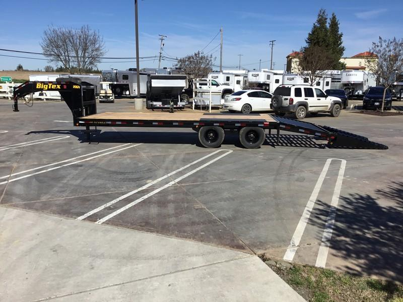 New 2019 Big Tex 20GN-20+5 Equipment Trailer 8.5X20 20K GVWR
