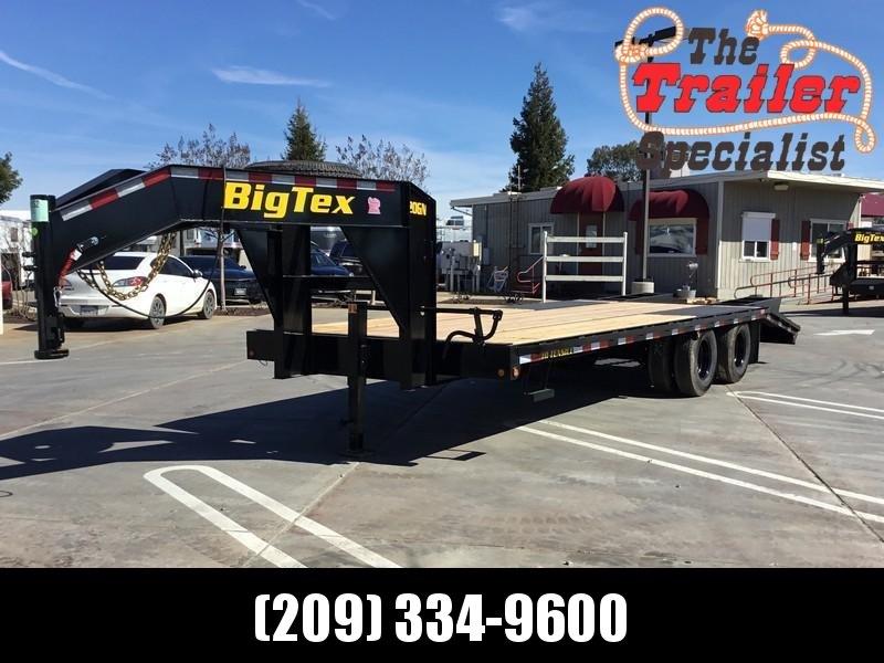 New 2019 Big Tex 20GN-20+5 Equipment Trailer 8.5X20 20K GVWR