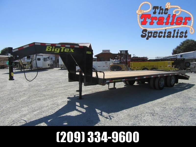 New 2019 Big Tex 20GN-20+5 Equipment Trailer 8.5X20 20K in Chitina, AK