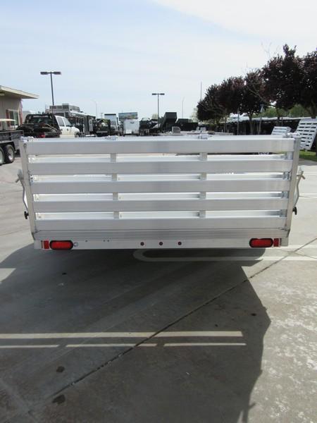 "New 2019 Aluma 8113SR 81""x13' aluminum utility trailer"