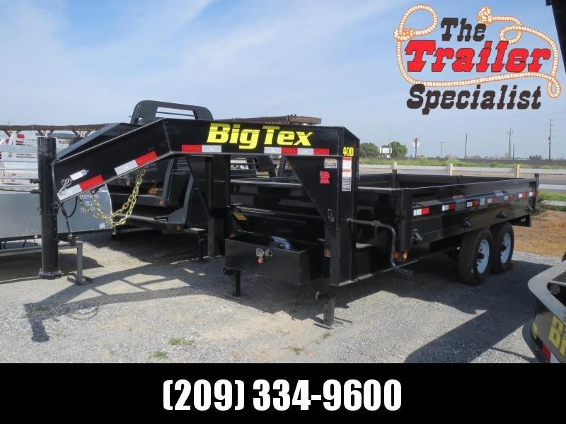 NEW 2020 Big Tex Trailers 14OD-14GN 8'x14' Dump Trailer