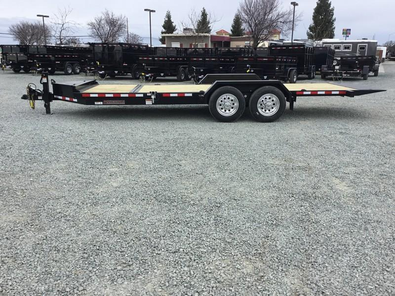 NEW Heavy Duty 2019 Midsota TB-20 7x20 15400 GVWR Equipment Trailer