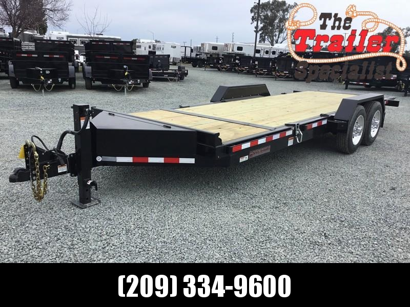 NEW Heavy Duty 2019 Midsota TB-20 7x20 15400 GVWR Equipment Trailer