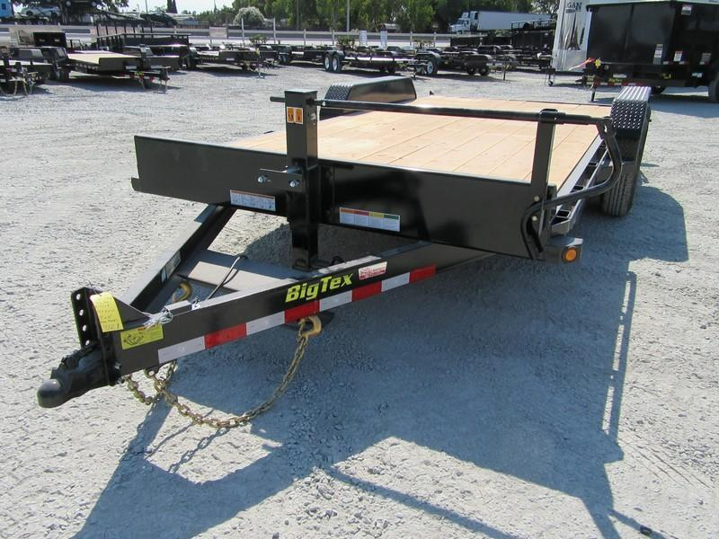 "New 2019 Big Tex 14ET-18KR Equipment Trailer 83""x18'"