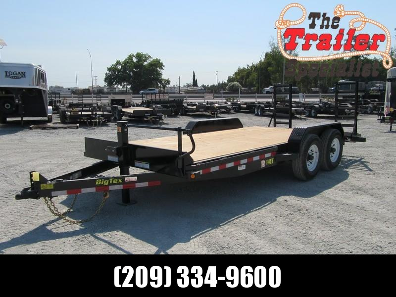 "New 2019 Big Tex 14ET-18KR Equipment Trailer 83""x18'  in Ashburn, VA"