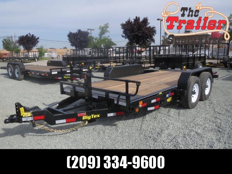 New 2020 Big Tex 14FT-16 Equipment Trailer VIN:62792