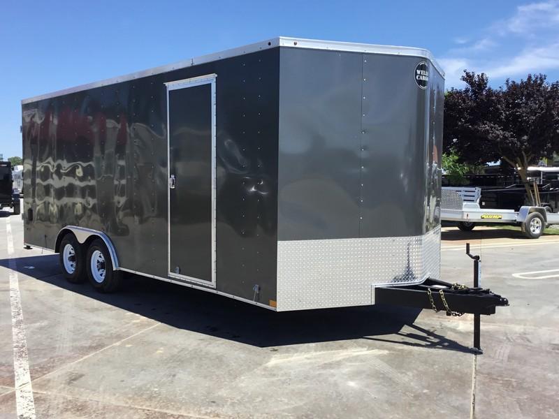 New 2018 Wells Cargo FT85204 8.5x20 10K GVW Enclosed Cargo Trailer