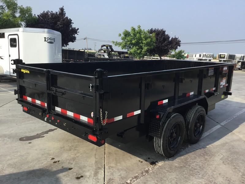 New 2019 Big Tex 16LX-16 17.5 GVW 7x16 Dump Trailer