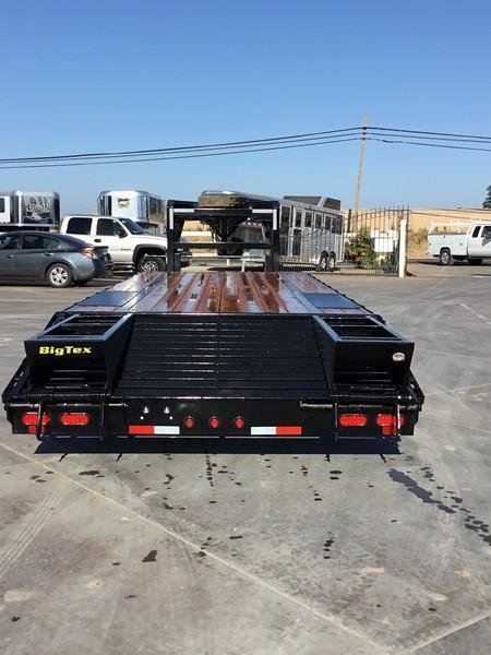 "New 2019 Big Tex 14GN-20+5 102""x 25' 15900# GVW Equipment Trailer"