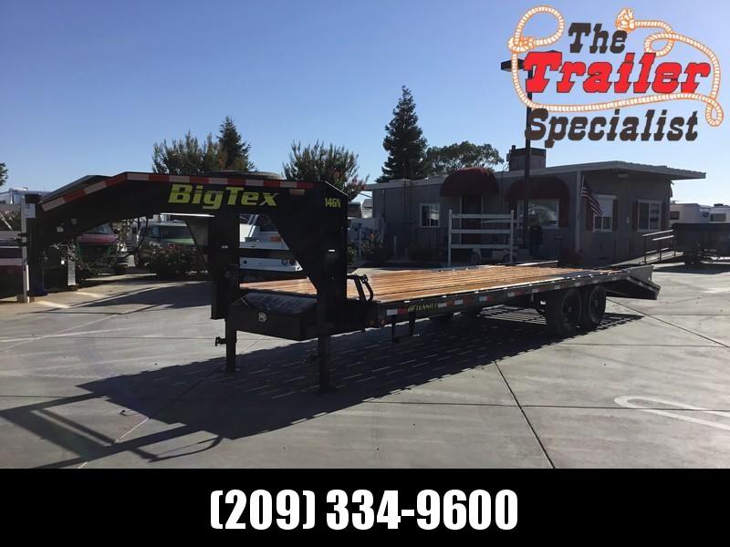 "New 2019 Big Tex 14GN-20+5 102""x 25' 15900# GVW Equipment Trailer"