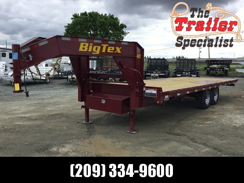 New 2019 Big Tex 14OT-24GN 14K 8.5x24 Tilt Deck Over Equipment Trailer