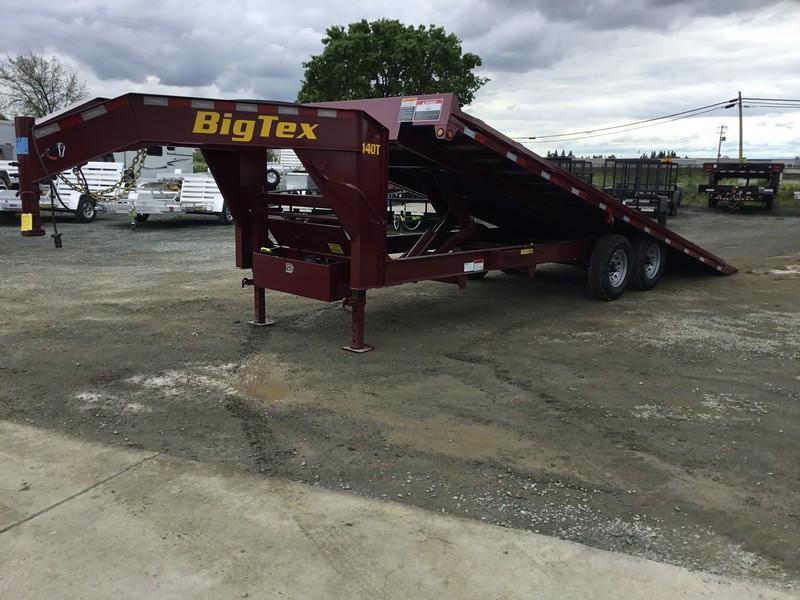 New 2019 Big Tex 14OT-24GN 14K 8.5x24 Tilt Deck Over Equipment Trailer