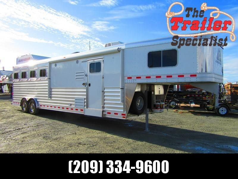 New 2018 Elite Mustang 4H LQ Horse Trailer Vin 17534 in Ashburn, VA