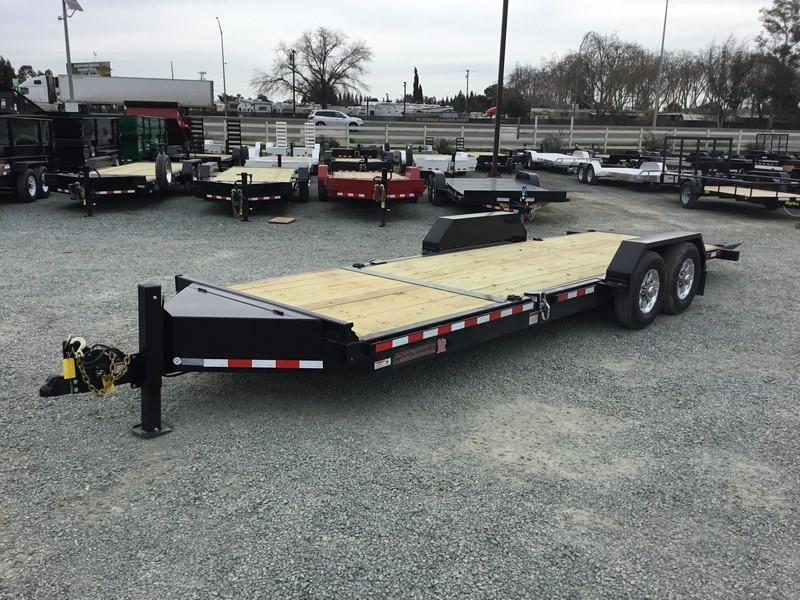 NEW 2019 Midsota TB-22 7x22 15400 GVWR Equipment Trailer