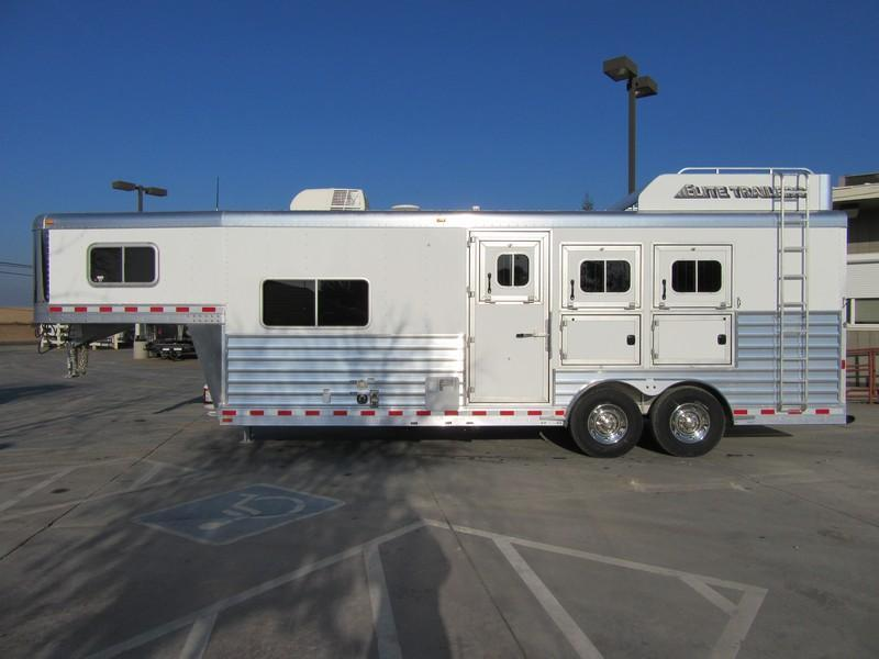 New 2018 Elite Mustang 3H LQ Horse Trailer Vin 17533