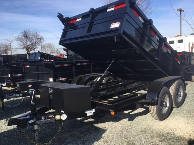 New 2019 Five Star DT258 6x10 10k Dump Trailer
