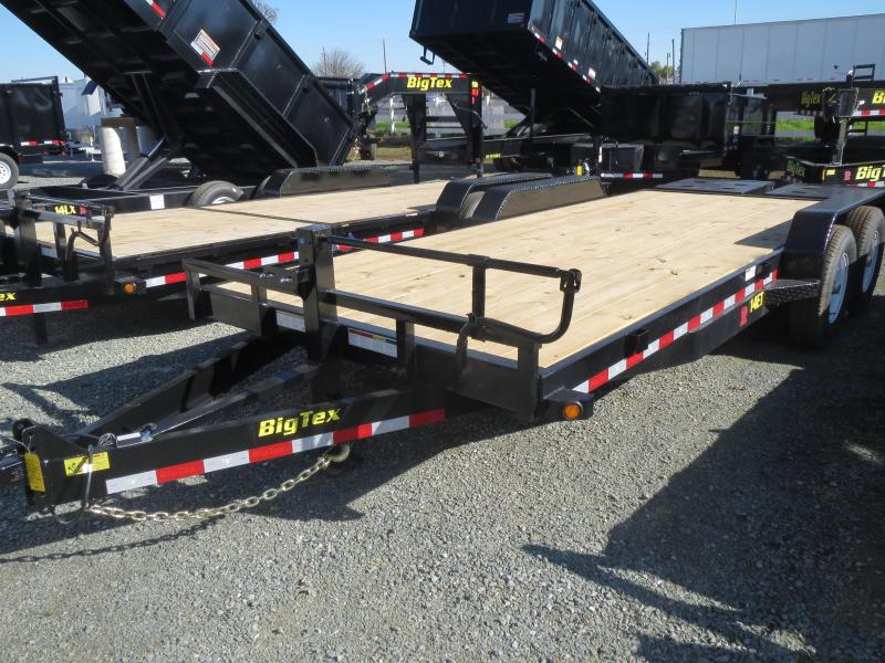 New 2018 Big Tex Trailers 14ET-20MR Equipment Trailer 7x20 14k VIN:25340
