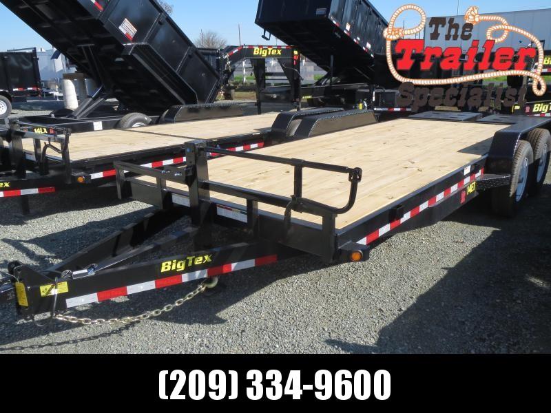 New 2019 Big Tex Trailers 14ET-20MR Equipment Trailer 7x20 14k
