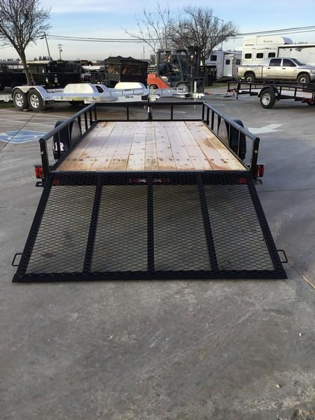 NEW 2019 Big Tex Trailers 35ES-12 6.5 x 12 Economy Utility Trailer