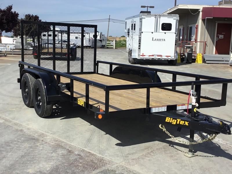 2019 Big Tex Trailers 60PI-14RG Utility Trailer