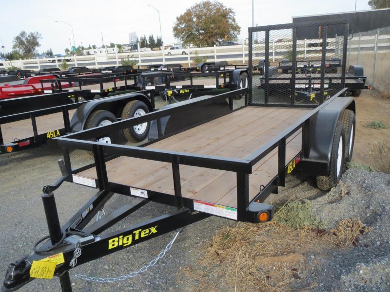 New 2019 Big Tex Trailers 45LA-12-4RG Utility Trailer 5X12