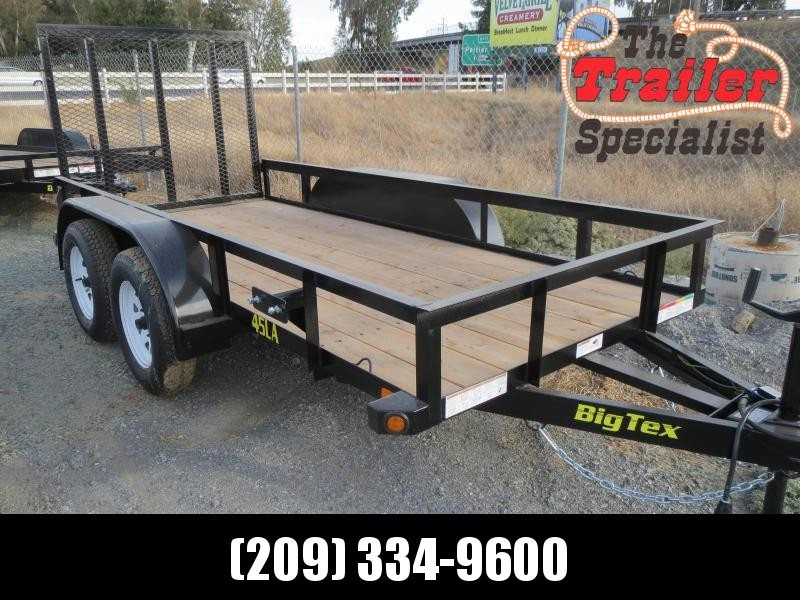 New 2019 Big Tex Trailers 45LA-12-4RG Utility Trailer 5X12