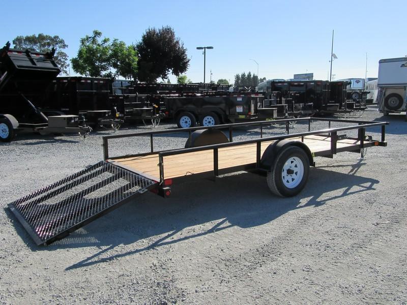 New 2017 Big Tex 30SA-14 5x14 Utility Trailer