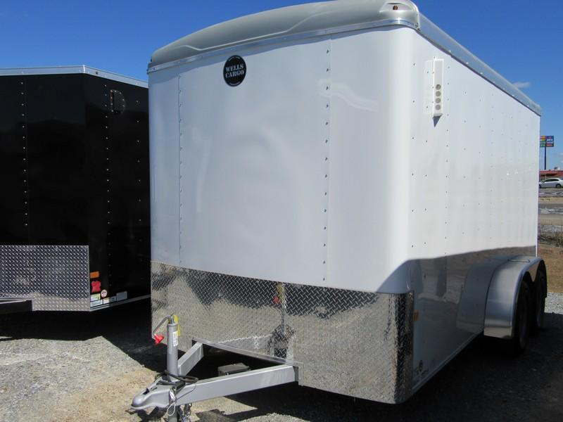 New 2017 Wells Cargo RF7x142 7x14 Enclosed Cargo Trailer VIN 40119