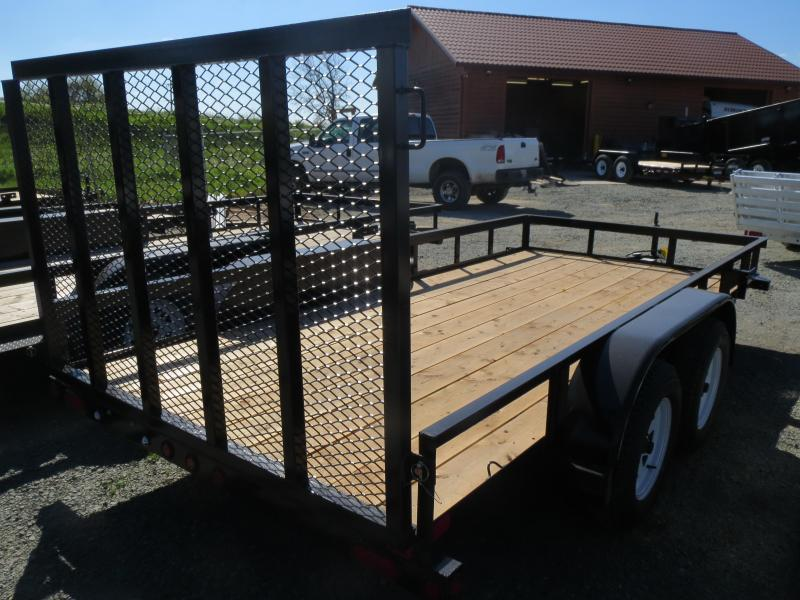 New 2018 Big Tex 50LA-14-4RG 6.5x14 Utility Trailer VIN:94844