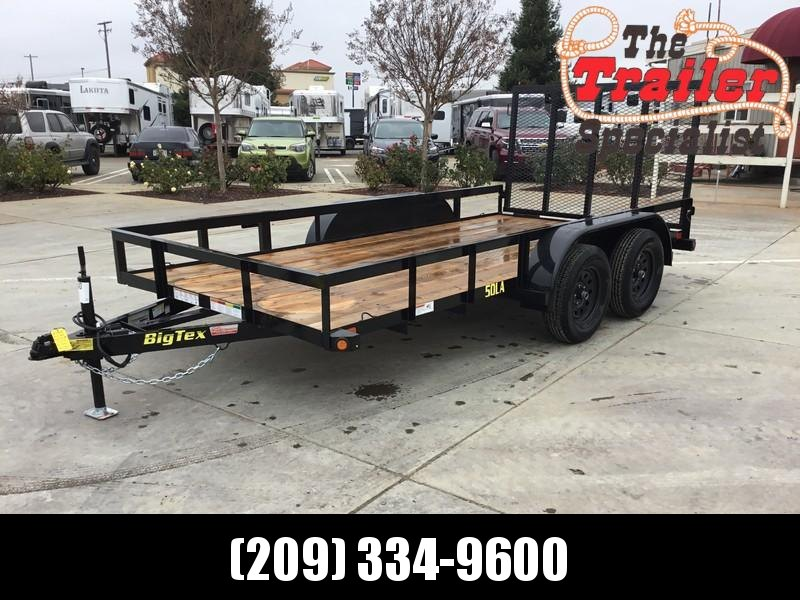 New 2019 Big Tex 50LA-14-4RG 6.5x14 Utility Trailer