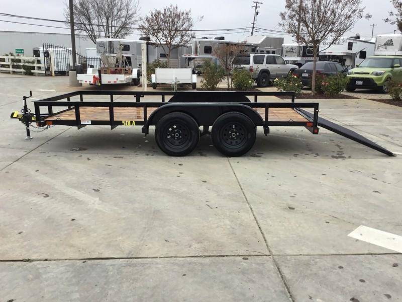 New 2019 Big Tex 50LA-14-4RG 6.5x14 Utility Trailer