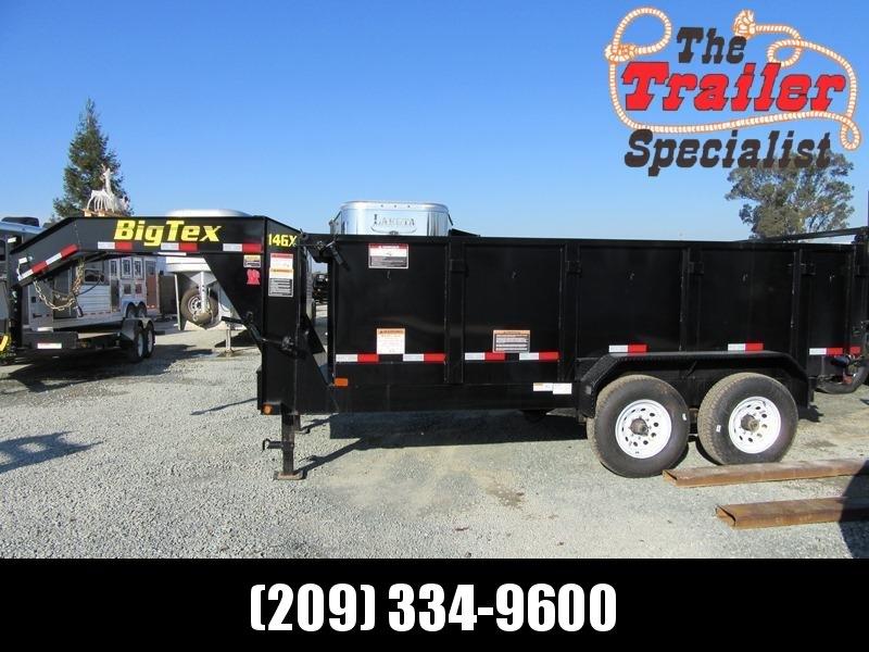 New 2018 Big Tex 14GX-14P3 Dump Trailer 7X14 14K