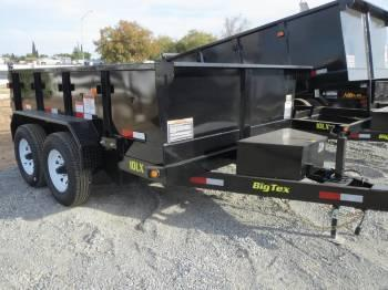 New 2018 Big Tex 10LX-10 7x10 10K Dump Trailer