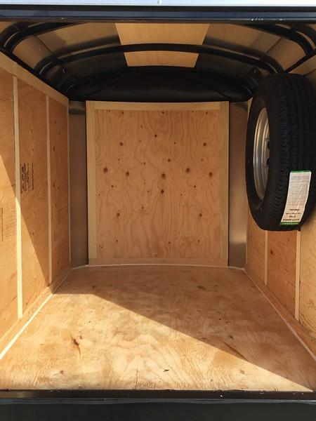 New 2019 Mirage MXL46SA1 4x6 Enclosed Cargo Trailer