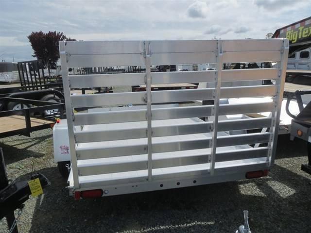 "NEW 2018 Aluma 7210 72""x10' Aluminum Utility Trailer VIN69230"