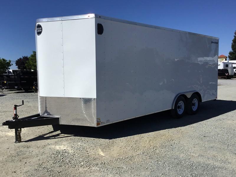 New 2019 Wells Cargo FT85204 8.5x20 10K GVW Enclosed Cargo Trailer