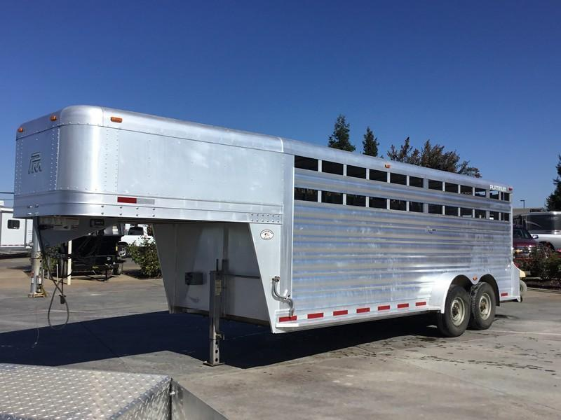 Toy Haulers And Stock Stock Combo Trailers For Sale Used Trailer