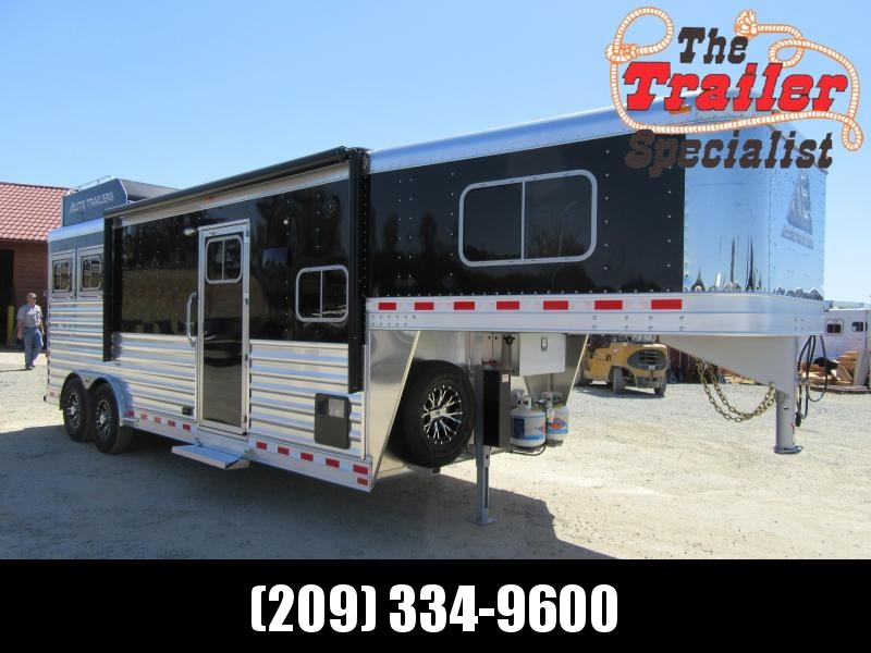 New 2019 Elite Trailers 2H Mustang LQ Horse Trailer in Ashburn, VA