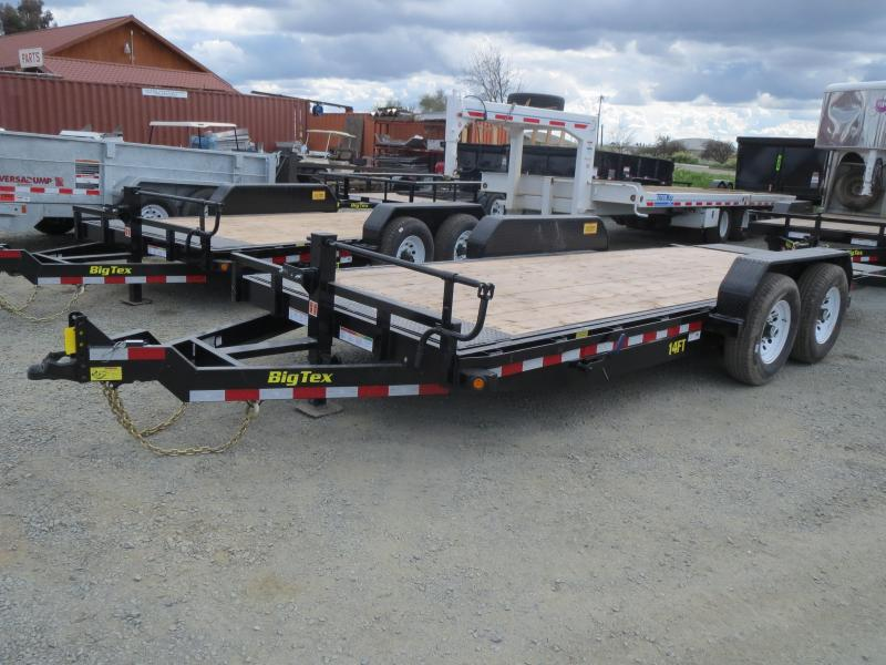 NEW 2019 Big Tex 14FT-20 7x20 14K GVW Tilt Equipment Trailer