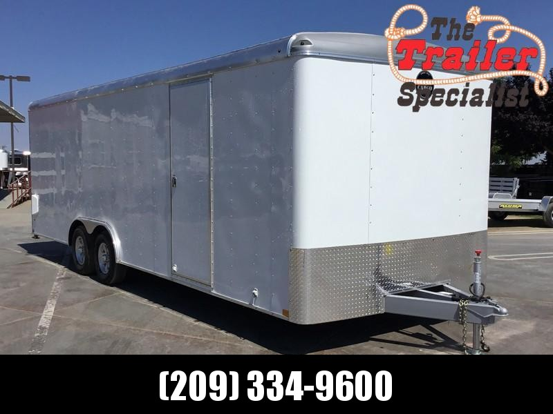 New 2018 Wells Cargo RF85x244 8.5x24' 10K GVW Enclosed Cargo Trailer