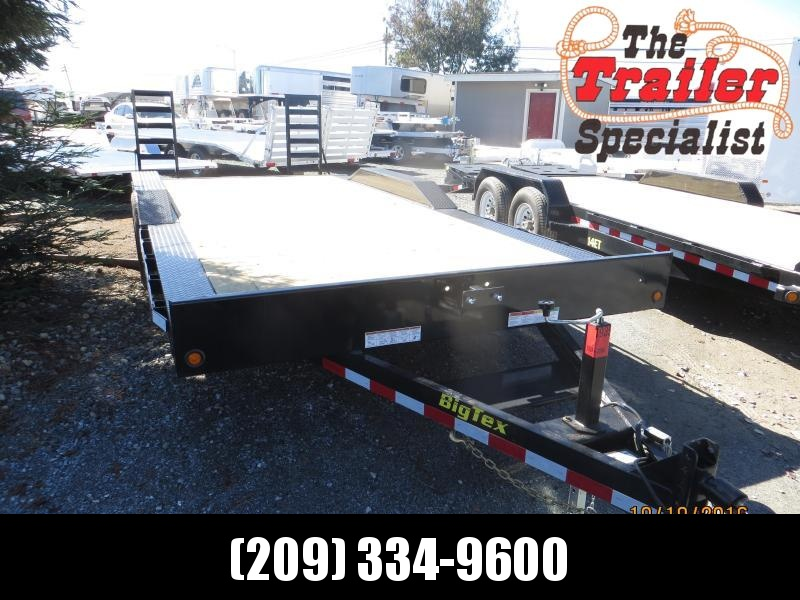 "NEW 2017 Big Tex Trailers 10DF-20 Equipment Trailer 102""x20' 10k VIN:31147"