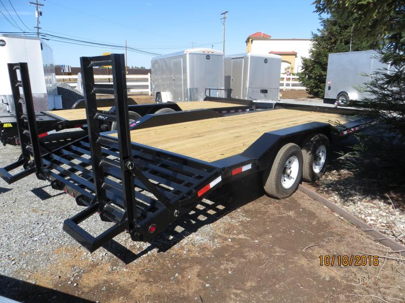 "2017 Big Tex Trailers 10DF-20 Equipment Trailer 102""x20' 10k VIN:31147"