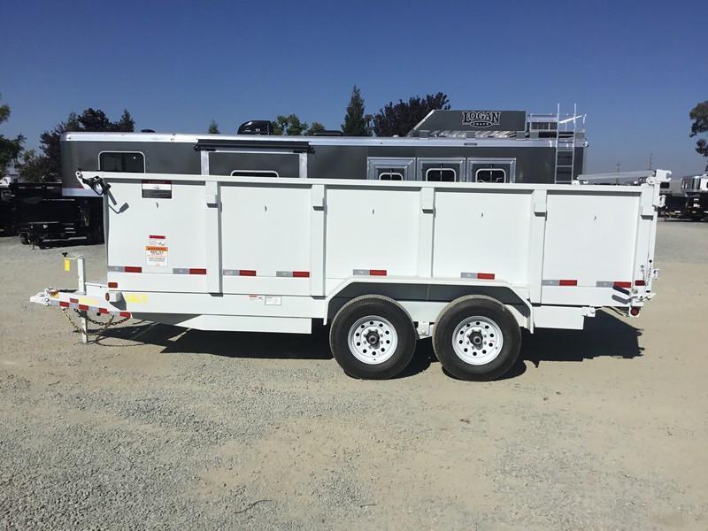 New 2018 Big Tex 14LX-16P3 Dump Trailer 7x16 14k