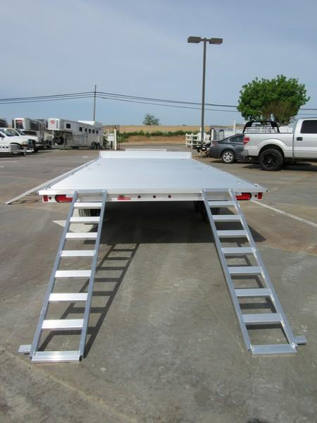 "New 2018 Aluma A8818 aluminum ATV Trailer 88""x18' Vin 76814"