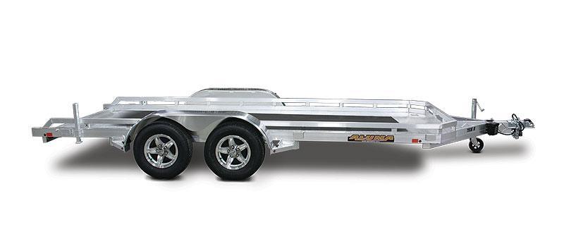 "New 2018 Aluma 7816B 78""x16' Aluminum Utility Trailer"