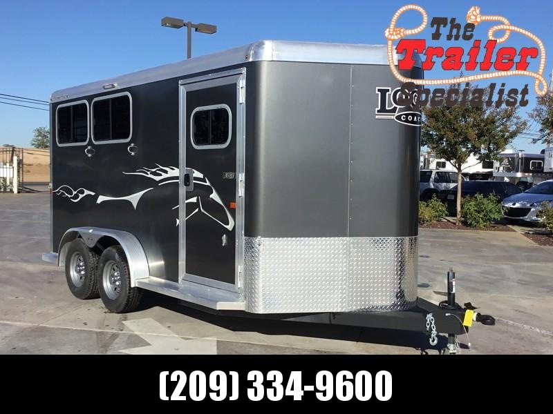 NEW 2019 Logan Coach 2H Edge BP Horse Trailer