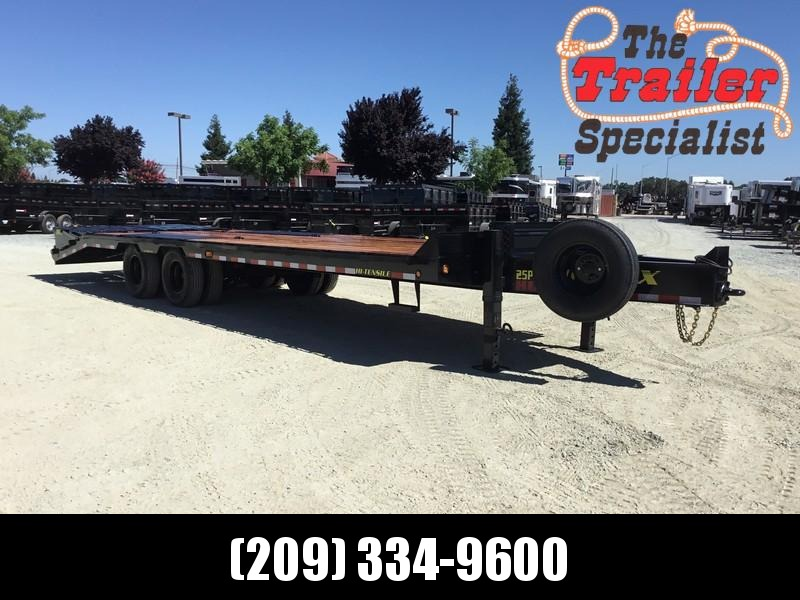 New 2019 Big Tex 25PH-20+5MR 25900# GVW Equipment Trailer