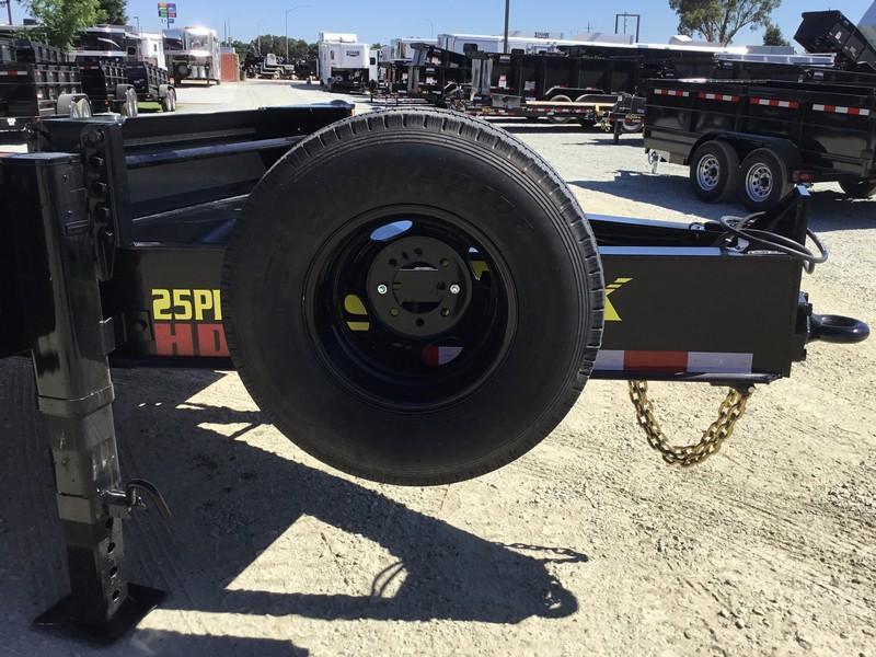 New 2019 Big Tex 25PH-20+5MR 25900# GVW Equipment Trailer