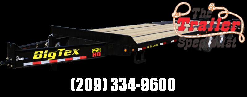 New 2019 Big Tex Trailers 25PH-20+5 25900# GVW Equipment Trailer